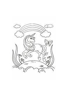 Malvorlage Regenbogen Einhorn Ausmalbild Einhorn Fabelwesen Einh 246 Rner Unicorn