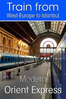 modern orient express from the netherlands to