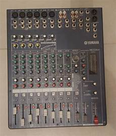 table mixage yamaha table de mixage yamaha mg124cx d occasion