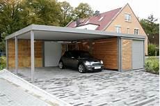 abri voiture moderne moderne carport abri voiture garage bois toit plat et