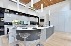 curved island kitchen designs 17 delightful kitchen ideas with curved island design