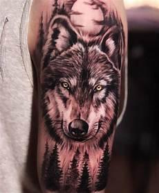 top 100 tatouages loup pour homme tatouez