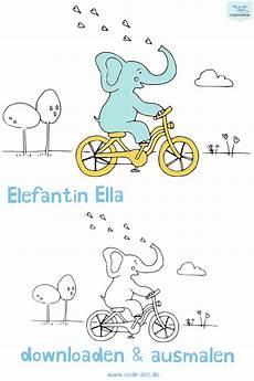 Ausmalbilder Ella Elefant Ausmalbild Elefant Ella Mit Bildern Ausmalen Kinder
