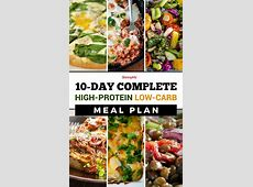 The 25  best High protein meal plan ideas on Pinterest