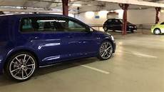 golf 7r 2017 vw golf 7 r facelift 2017 lapisblau