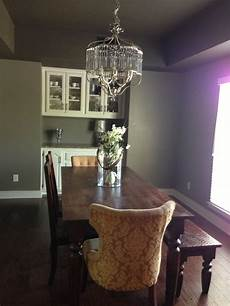 dramatic wall color behr mocha accent paint colors dining table furniture