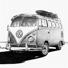 Eskiz Karakalem Sketch Volkswagen Www