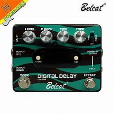 delay pedal with presets belcat digital delay guitar effects pedal 20ms 2500ms delay time with stereo output preset