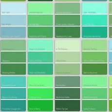 green color names shades of green names