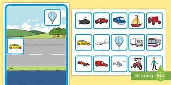 Transport Sorting Activity  Game Fun