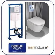 toilette suspendu grohe pack wc suspendu rapid sl skate air chrom 233 cuvette urb
