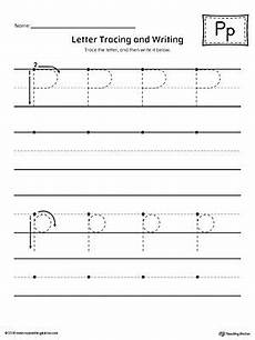 letter p tracing and writing printable worksheet alphabet worksheets letter p worksheets