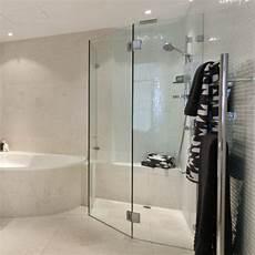 Trennwand Glas Bad - glasduschen 8mm edelstahl beschl 228 ge panther glas