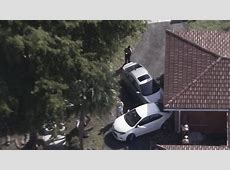 Honda Civic crashes into several vehicles, home in Miami Lakes
