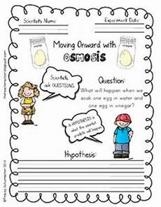 osmosis the vinegar and egg experiment from the teachers chair on teachersnotebook com 5 pages