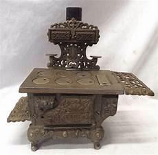 Antique Cast Iron Quot Eagle Quot Miniature Child S Cook Stove