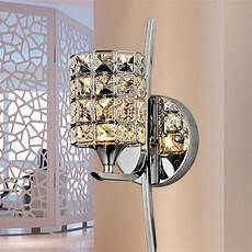 buy modern dimmable crystal led wall light sconce l