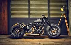 Harley Davidson Bobber Crowned Stallion Grease N Gas
