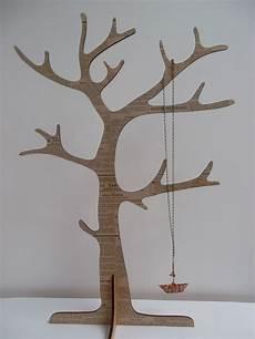 arbre à bijoux en bois arbre 224 bijoux en bois quot journal quot support 224 bijoux