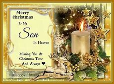 merry christmas from heaven words