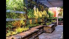 small garden wall ideas youtube