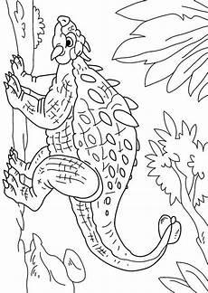 Ausmalbilder Dinosaurier Ankylosaurus Coloring Page Dinosaur Ankylosaurus Img 27630 Images