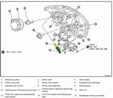 car engine repair manual 1992 infiniti g spare parts catalogs 2003 2007 infiniti g35 coupe parking l bulb replacement procedure infinitihelp com