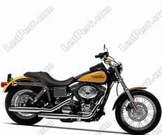 led rundscheinwerfer f 252 r harley davidson low rider 1450