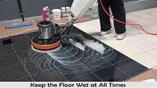marble floor polishing with polishing powder