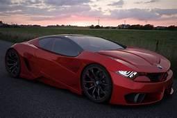 Lamborghini Ferrari And BMW Sportscar Concept Studies By