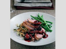 duck breasts with shallots and port_image