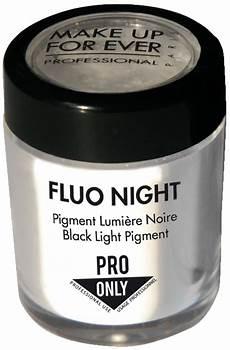 make up for ever fluo black light pigment