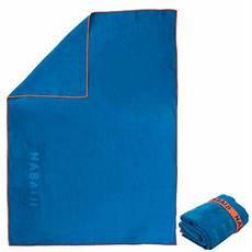 Serviette Microfibre Ultra Compacte Bleu Taille Xl 110 X