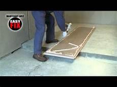 plaque placo isolant rectavit easy fix encollage des panneaux d isolation les