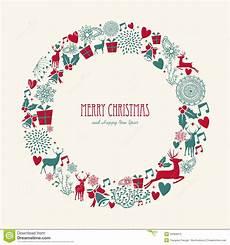 merry christmas elements decoration circle shape royalty free image 34309315