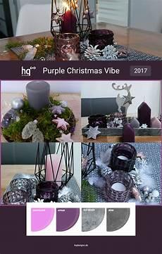 weihnachtsdeko 2018 trends trendfarben f 252 r weihnachten 2017 purple vibe