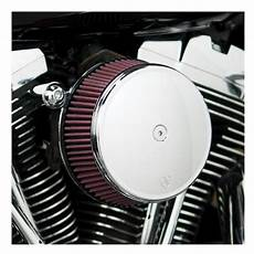 Harley Davidson Stage 1 Air Cleaner by Arlen Ness Smooth Stage 1 Big Sucker Air Cleaner Kit For