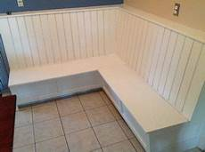 Eckcouch Selber Bauen - diy corner dining bench with storage home furniture