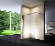 Walk In Dusche Milchglas - duschabtrennung walkin nano echtglas duschtrennwand dusche