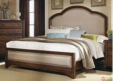 upholstered headboard laughton rustic bedroom