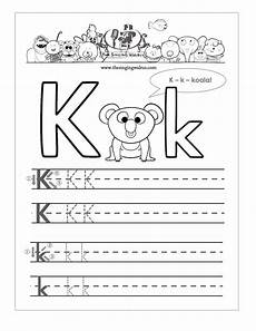 free letter k worksheets for preschool 24376 15 learning the letter k worksheets kittybabylove