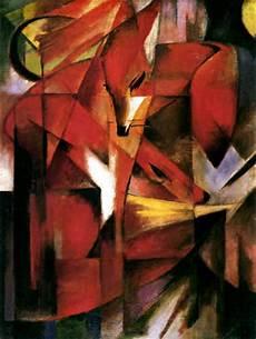 Kubismus Berühmte Bilder - indeprofundis franz marc