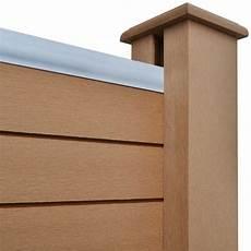 Gartenzaun Kunststoff Braun - square wpc wood plastic garden fence panel brown buy