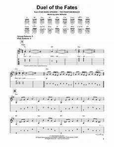 duel of the fates by williams easy guitar tab guitar instructor