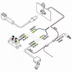 utv headquarters universal atv winch 14ft corded remote kit