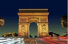 Arc De Triomphe Gate In Found The
