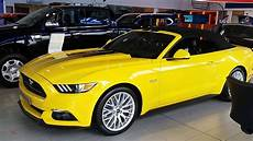 ford mustang interior all new ford mustang yellow cobra exterior and interior 435 hp 5 0l v8
