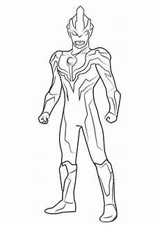 Ultraman Untuk Mewarnai Belajarmewarnai Info