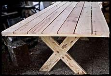 Table En Bois Massif D Ext 233 Rieur Tables En Bois Massif