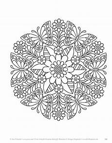 coloring pages butterfly mandalas coloring book